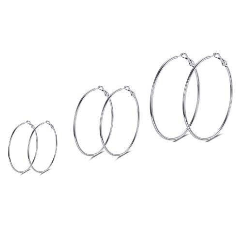 A Set of Hoop Earrings