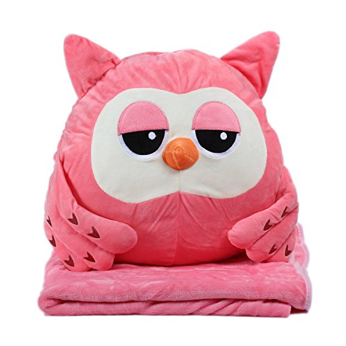 Alpacasso 3 in 1 Pillow Blanket and Hand Warmer