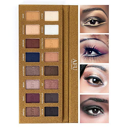 An Eye-Catching Shadow Palette