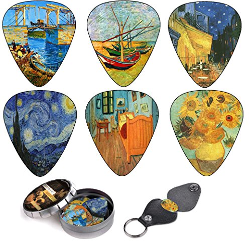 Art Inspired Guitar Picks