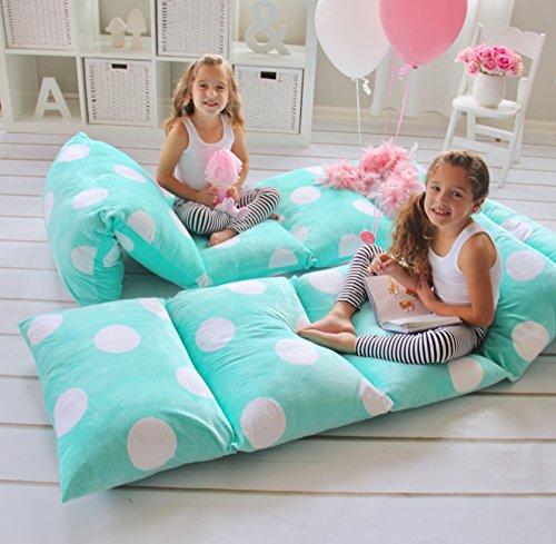Butterfly Craze Girl's Floor Lounger Cover