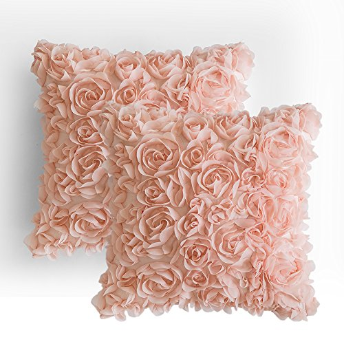 Chiffon Rose Pillows