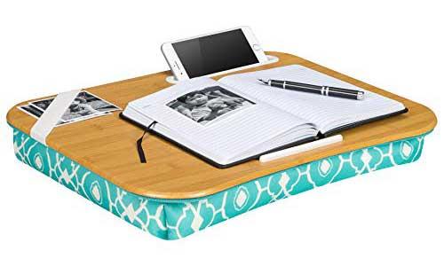 Designer Lap Desk with Phone Holder