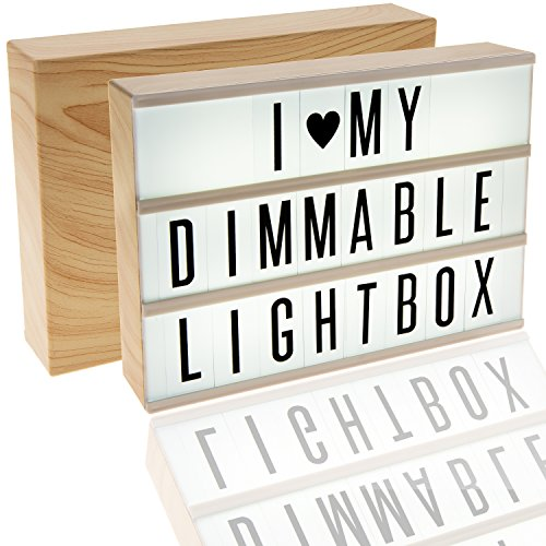 Dimmable Cinema Light Box