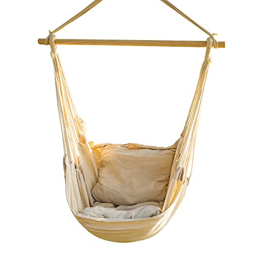 Hanging Rope Hammock Chair Swing Set