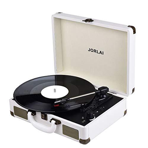 JORLAI Vinyl Record Player