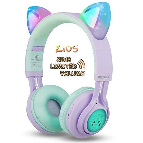 Riwbox Cat Ear Bluetooth Headphones