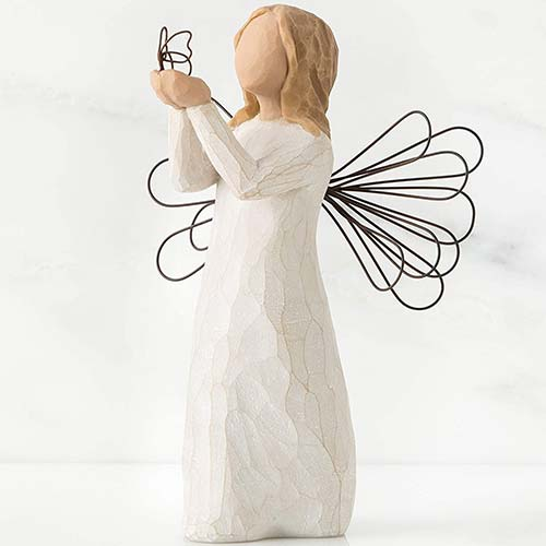 Willow Tree Angel of Freedom Hand Painted Figure