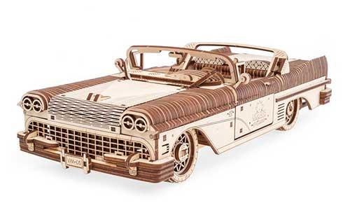3D Wood Car Puzzle