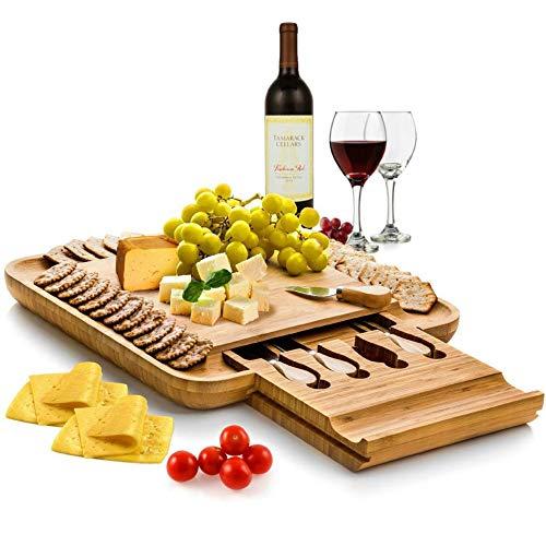 Bambusi Cheeseboard and Knife Set