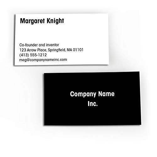 Buttonsmith Custom Printed Business Cards