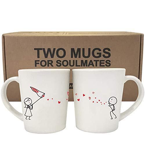Couples Coffee Mugs from BoldLoft