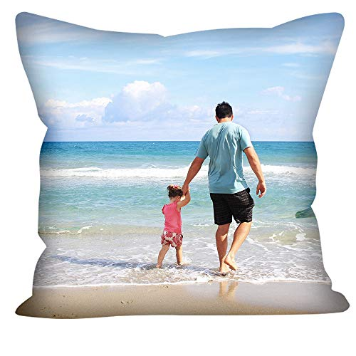 Customized Photo Throw Pillow