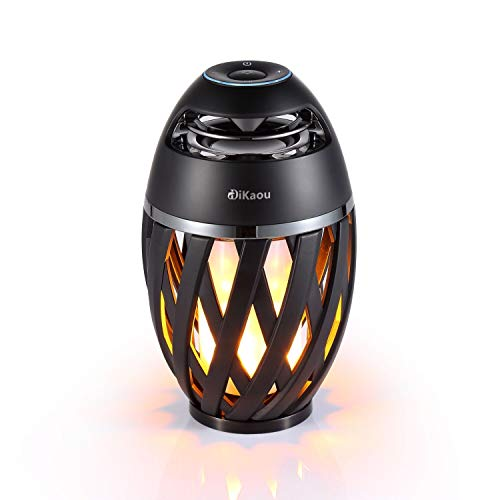 Flame Table Lamp and Bluetooth Speaker