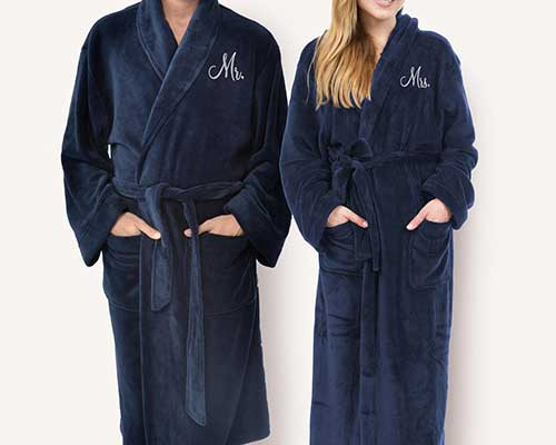 His and Her Bathrobes