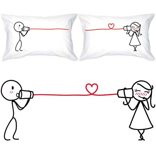 His and Her Pillowcases