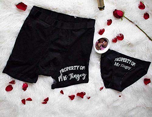His and Her Underwear