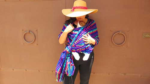 Mexican Fabric Baby Carrier