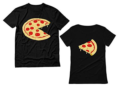 Mr. and Mrs. Pizza Slice Shirts