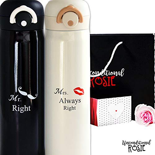 Mr. and Mrs. Thermos Set
