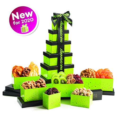 Nut and Dried Fruit Tower