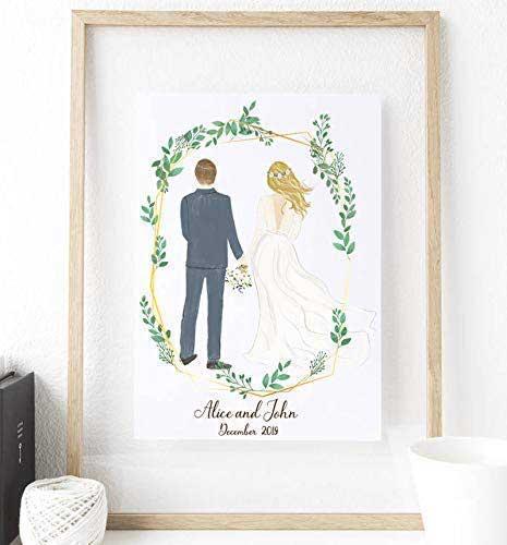 Personalized Wedding Portrait