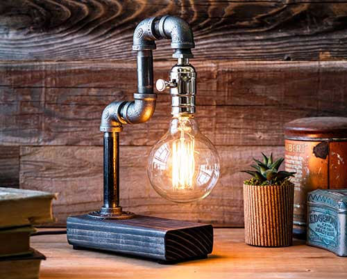 Steampunk Table Lamp