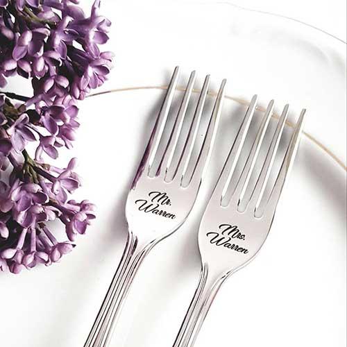 Wedding Cake Forks