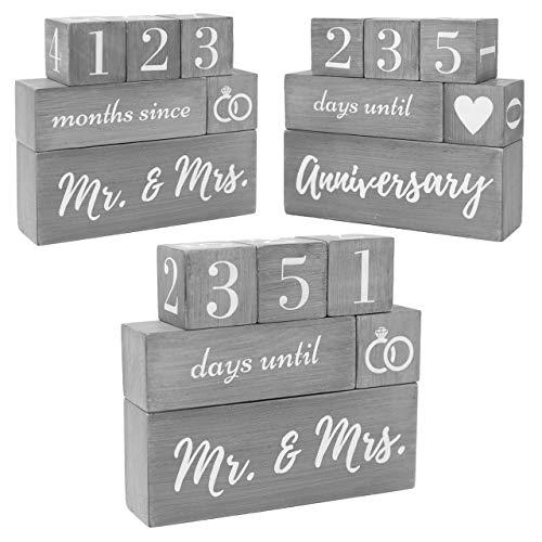 Wedding Countdown Calendar Block