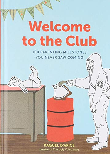 Welcome to the Club Funny, New Parent Milestones Book
