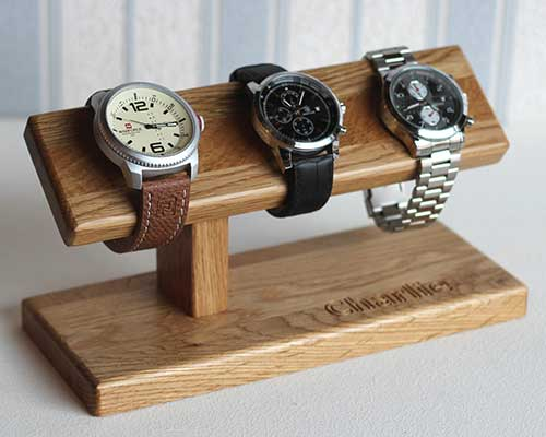 Wood Watch Holder