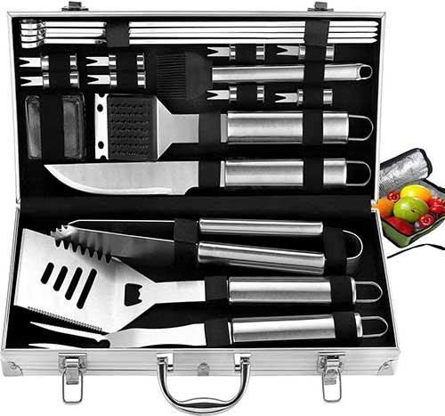 20 Piece Grill Accessories Kit