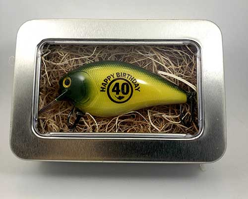 40th Birthday Fishing Lure