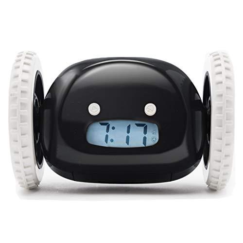 Alarm Clock on Wheels