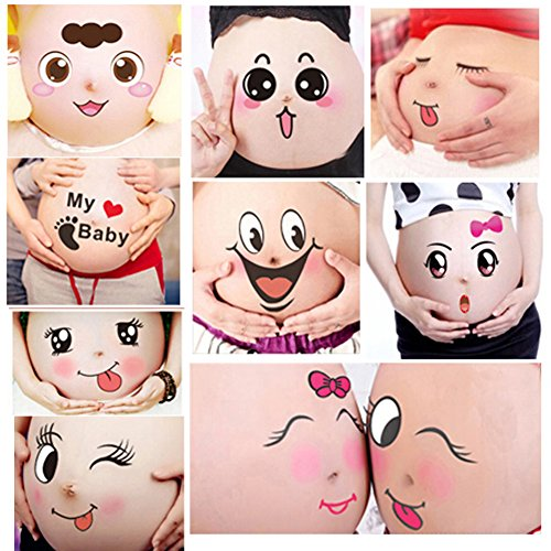 Belly Bump Stickers