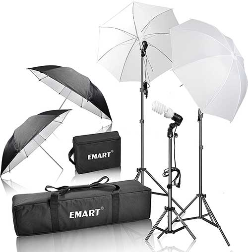 Emart 600W Photo Lighting Kit