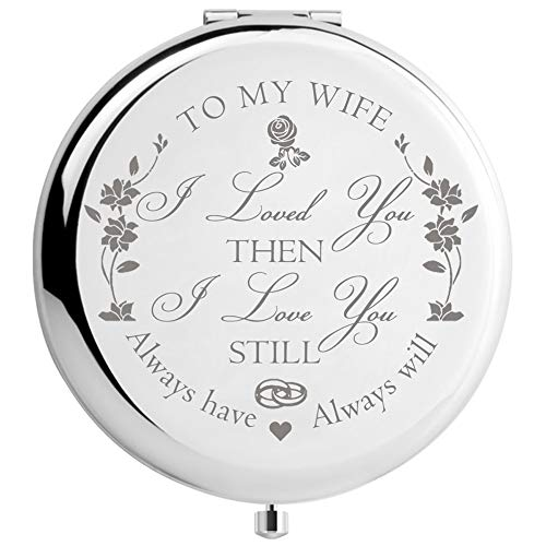 Engraved Mirror Gift