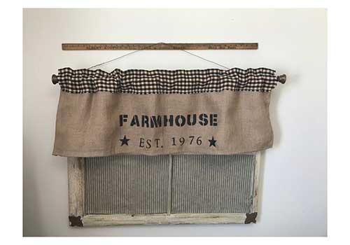Farmhouse Valance