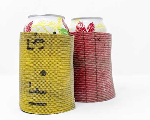 Firefighter Beer Can Cooler