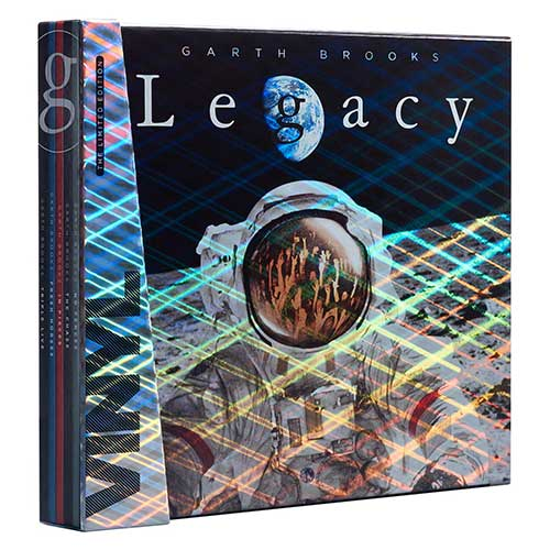 Garth Brooks Legacy Vinyl CD Collection