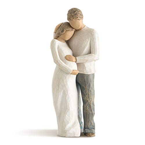 Hand-Painted Sculpted Figurine
