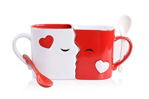 Kissing Coffee Mugs
