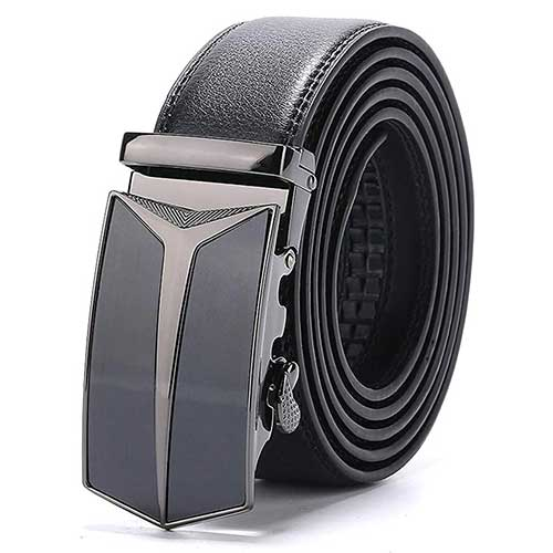 Mens No Hole Fashion Belt