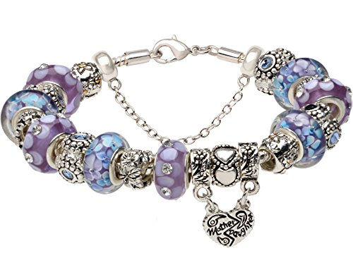 Mother and Daughter Beaded Bracelet