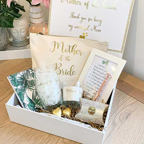 Mother of the Bride Custom Gift Box