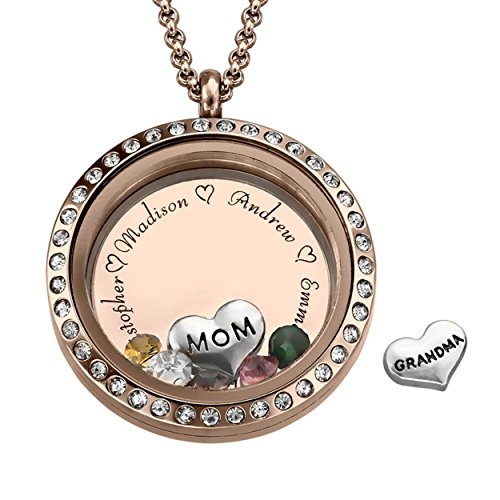 Mother of the Bride Engraved Locket