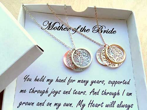 Mother of the Bride Family Tree Necklaces