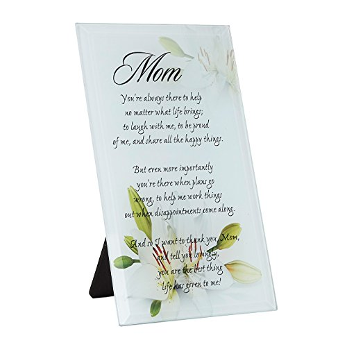 Mother of the Bride Glass Plaque