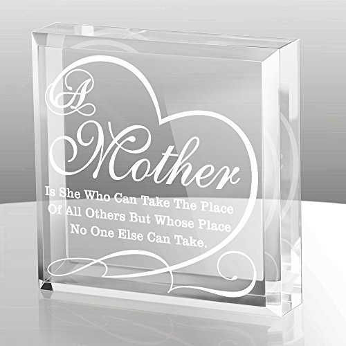Mother of the Bride Lucite Paperweight
