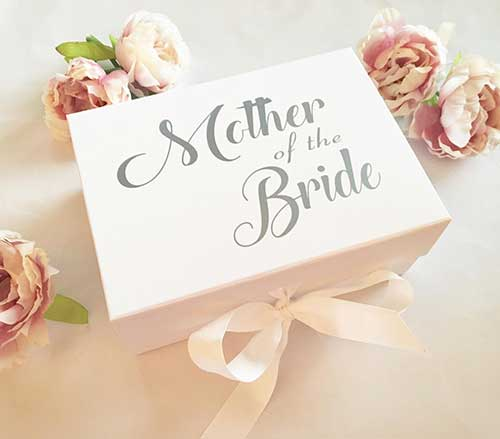 Mother of the Bride Luxury Keepsake Box